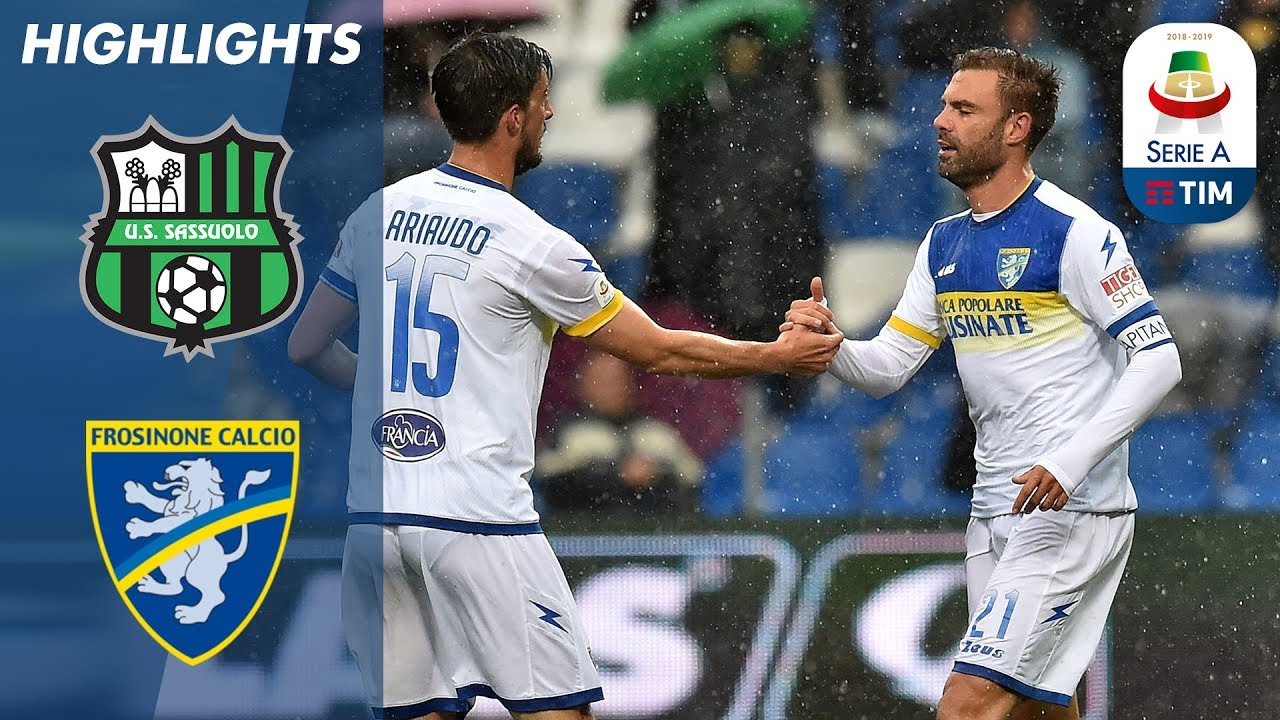 Sassuolo 2-2 Frosinone | Sassuolo Held By A Relentless Frosinone Side | Serie A