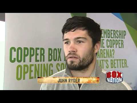 Interviews with Billy Joe Saunders and John Ryder - Olympic Park - 10th June