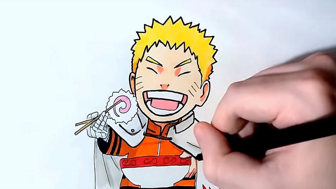 naruto eating ramen coloring pages - photo#20