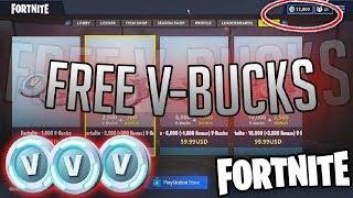 Fortnite free vbucks | How to get free vbucks 2018 | free v bucks 2018😱 😱🤑