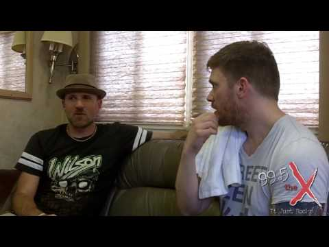 Brent Smith of Shinedown Interview - Carolina Rebellion 2016 - 99.5 The X