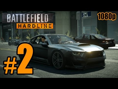 Battlefield: Hardline Walkthrough PART 2 @ 60fps (PC) No Commentary [1080p] TRUE-HD QUALITY