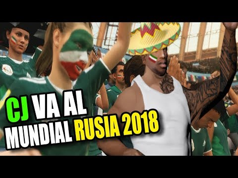 CJ Se Gana Un Viaje Al Mundial De RUSIA 2018 L Gta San Andreas HD