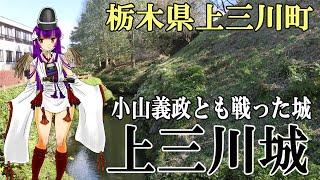 【上三川城】栃木県上三川町