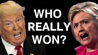 Trump or Clinton: Who REALLY Won The Debate?