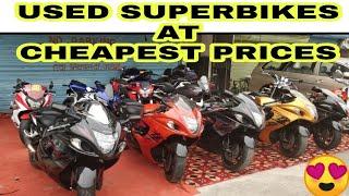 USED SUPERBIKES AT BEST PRICE | HAYABUSA | HONDA CBR | BENELLI | JD VLOGS DELHI