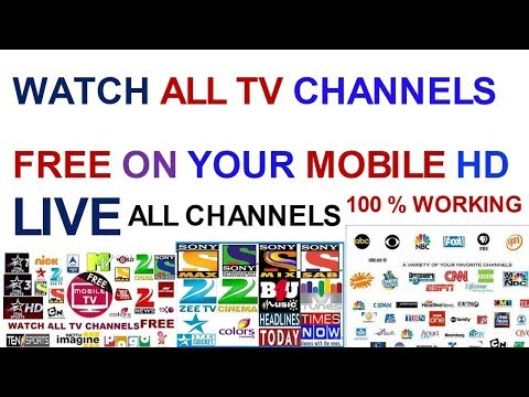 Live TV apps 100 % working 1000 channels live there 2018 in Hindi and Urdu tips tricks subscribe now