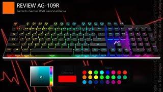 التخصيص RGB الأقصى - مراجعة ACGAM AG-109R