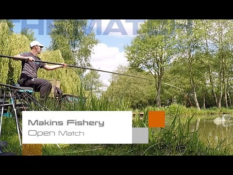 Live Match Fishing: Makins Fishery, Open Match Win