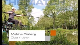 The Match: Makins Fishery, Open Match Win