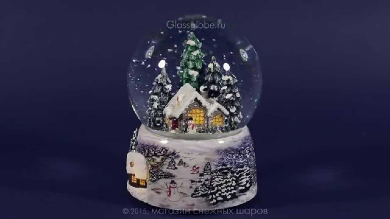 Снежный-шар.рф - шар со снегом