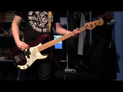 Green Day - Burnout Bass Cover
