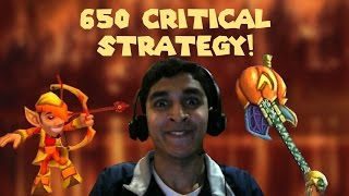 Wizard101 Max Fire PvP: The 650 Critical Strategy!