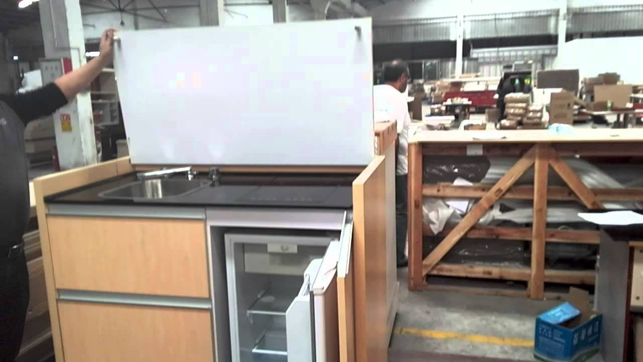 all in one kitchen,kitchen combo from shinning - YouTube
