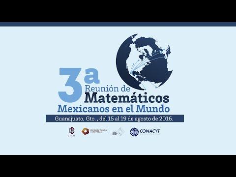 3a. Reunión de Matemáticos Mexicanos en el Mundo