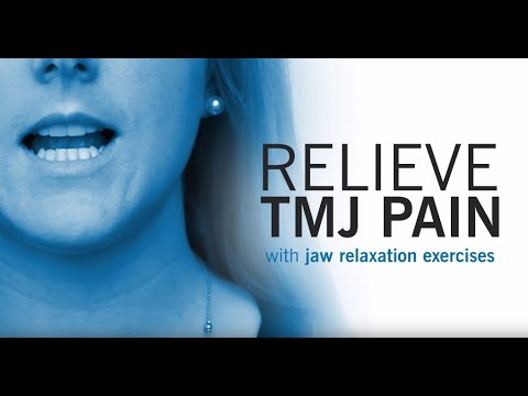 Tmj Exercise Strengthen And Relax Your Jaw Youtube