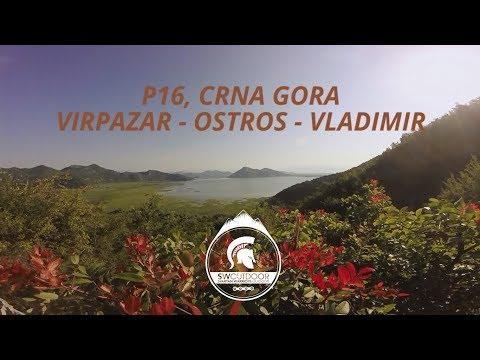 Crna Gora P16, Virpazar - Ostros - Vladimir biciklom, GoPro, SWOutdoor