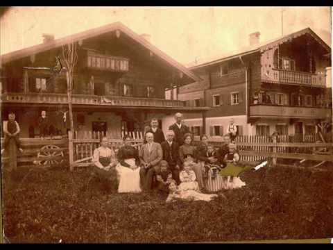 hitler watercolor / family photo /  WW1 Adolf photo