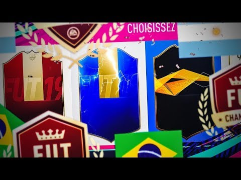 FIFA 19 - RÉCOMPENSES FUT CHAMPION, DES GROS PACKS ET PETER CROUCH SBC !