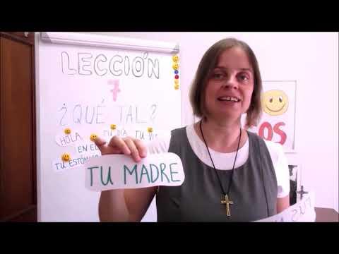 Hola amigos - 7. lekce španělštiny s misionářkou