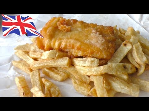 Traditional British Fish And Chips.... In Australia!