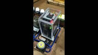 자작MC 파워릴레이 LED형 - 아크릴케이스 보강형