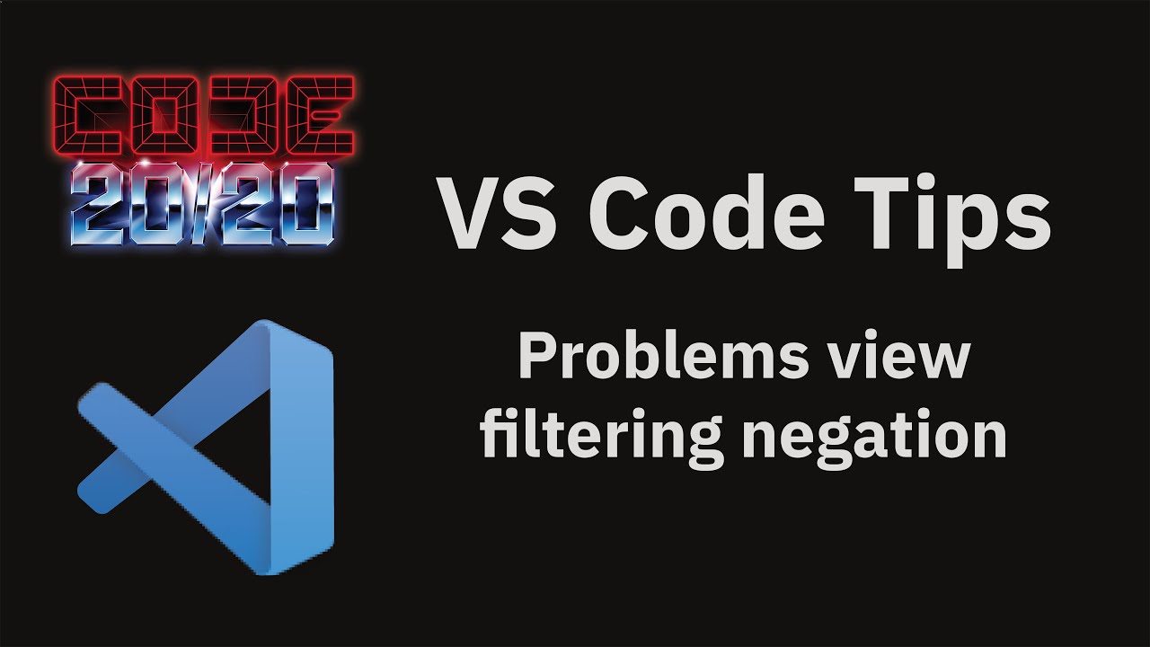 Problems view filtering negation