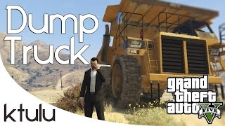GTA 5 Online - PC - The Dump Truck (Funny Moments)