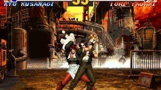 [TAS] Kyo VS Iori (KoF '95)