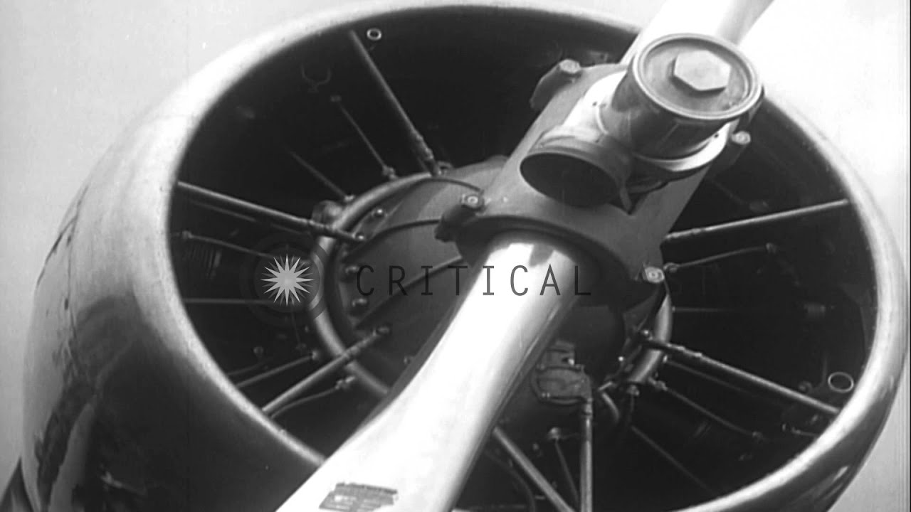 Howard Hughes In Flight Gear With Parachute Climbs In And Out Of H 1 Racer In Hd Stock Footage