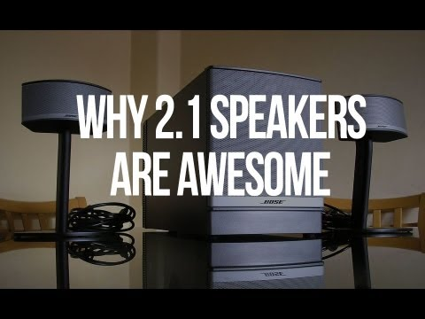 Why You Should Get a 2.1 Speaker System