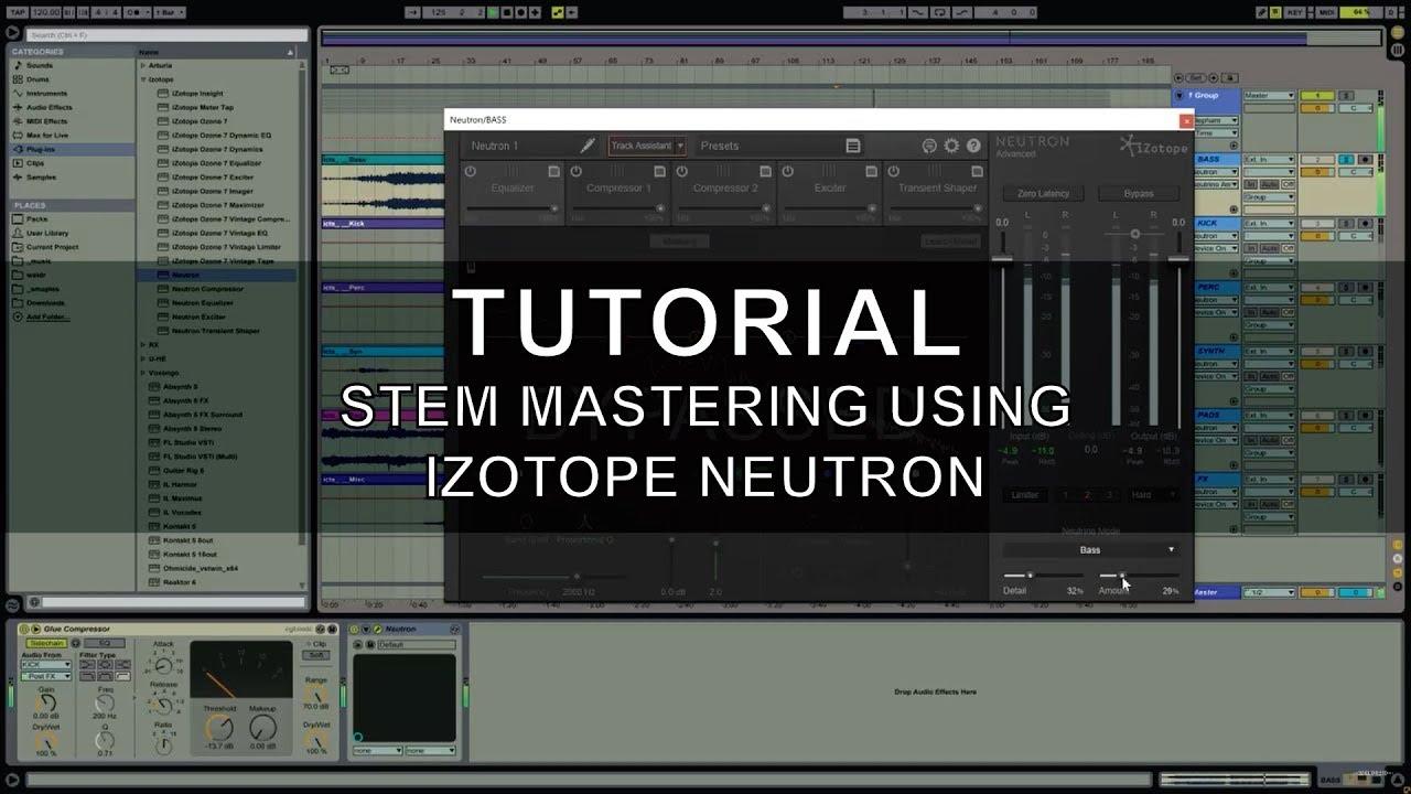 izotope neutrino tutorial