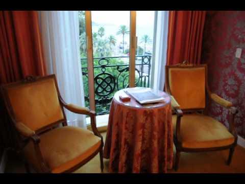 My room at Le Negresco Hotel Nice