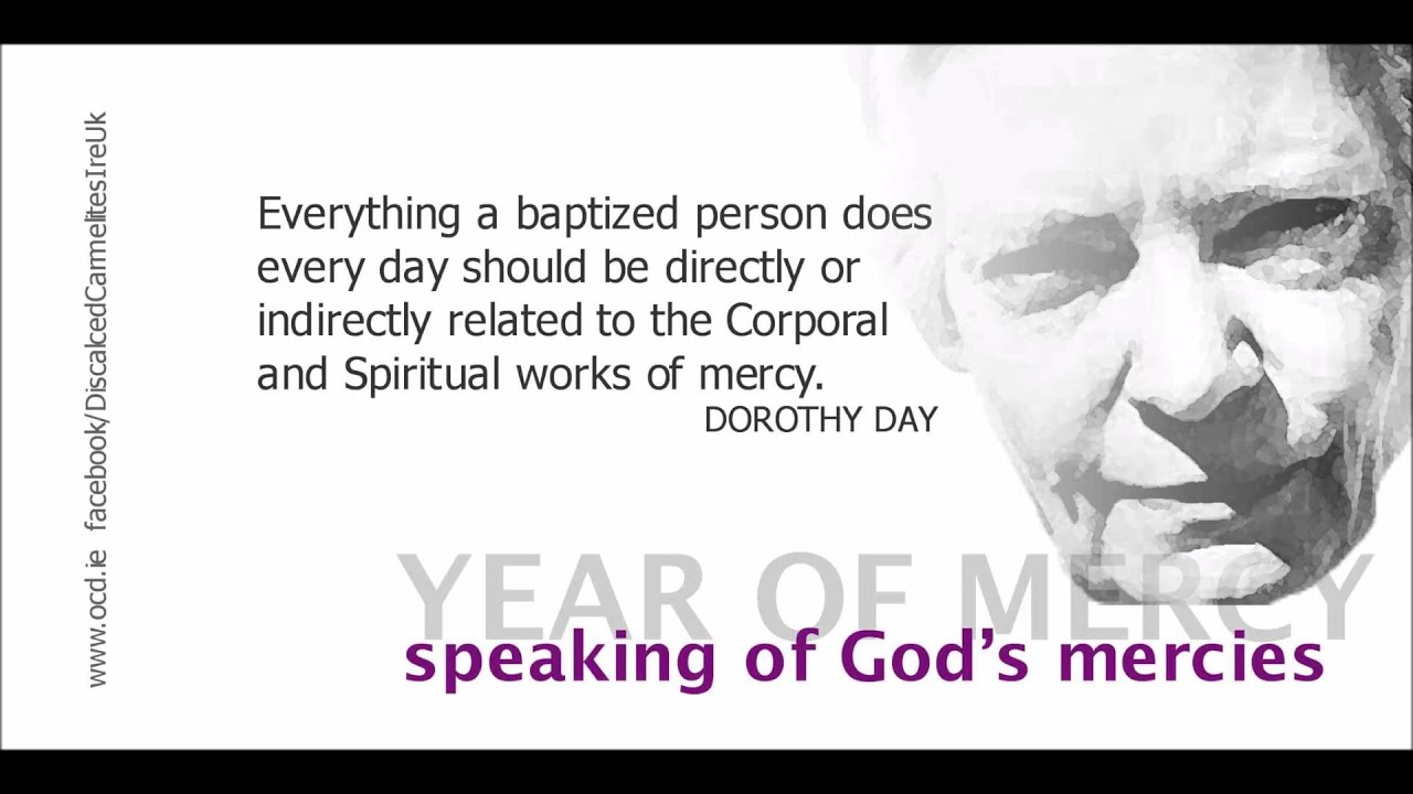 God's Mercy Quotes Speaking Of God's Mercies  Mercy Quotes Year Of Mercy  Youtube