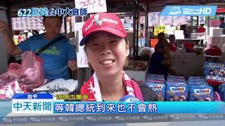 20190622中天新聞 火辣艷陽高高照 台中場抗熱小物夯熱賣