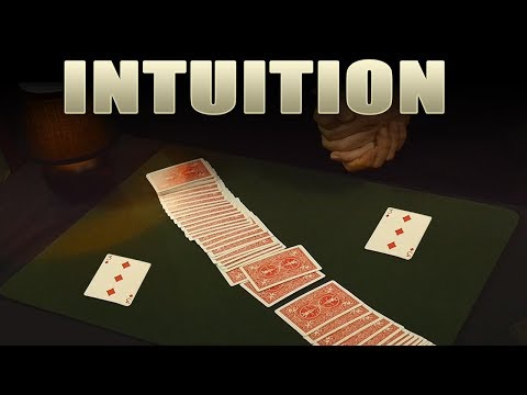 Easy Card Trick - Amazing Intuition