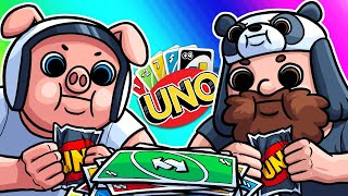 Uno Funny Moments - The Piglet Joins the Battle!