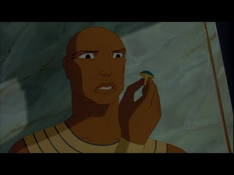 The Prince of Egypt (1998) - Rameses vs. Moses