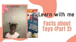 Baixar Learn with me - Awesome Facts about Toys (Part 2)