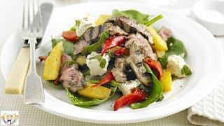 Lamb Feta And Mint Salad