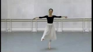 Miyako Yoshida dances variation from Giselle ACT1. Aug 2009.
