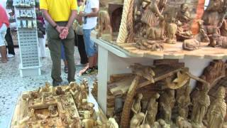 Thק Manger (jesus' Nativity) Scene - Made Of Olive Wood From Bethlehem