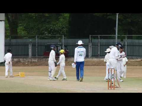Nirvan Ramesh Cricket Tour of Sri Lanka 2016