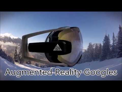 Invention a Day - Episdoe #77: RideOn Vision Augmented Reality Ski Goggles