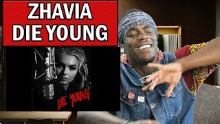 ZHAVIA -Die Young (Roddy Rich Cover) Reaction | Oso's Reaction
