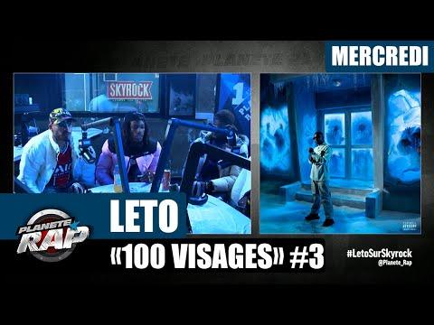 Youtube: Planète Rap – Leto«100 Visages» avec Timal, The S & Kepler #Mercredi