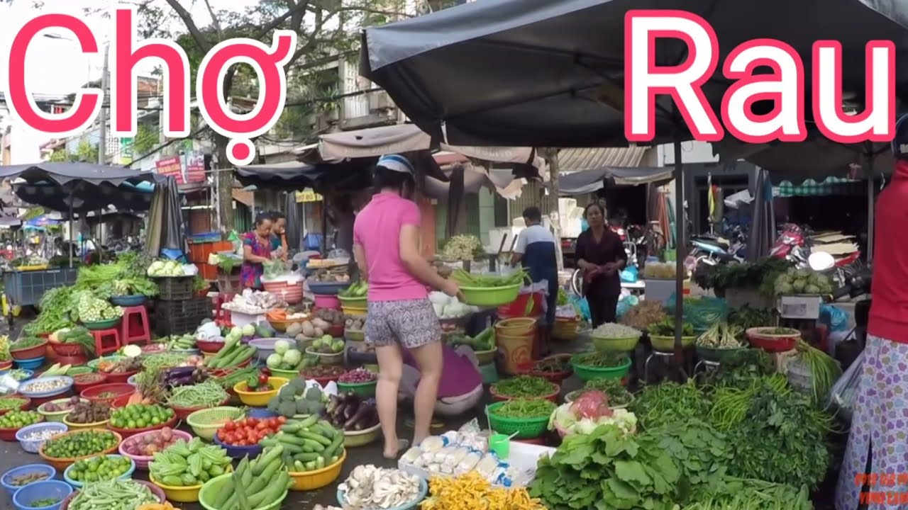Đi Chợ Xóm Chiếu Quận 4 mua RAU giá CAO sau Cơn Bão