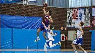 Highlights Aaron Ganal - Futbol Club Barcelona Basket, Cataluña U16 y España U16 YouTube Videos