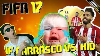 NEJUBREČENĚJŠÍ HRÁČ FIFY!? | IF CARRASCO | FIFA 17 CZ