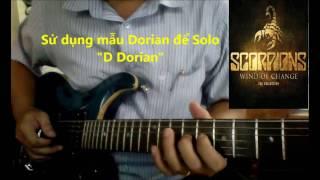 Hướng dẫn solo guitar 1 bài hát dựa trên nền nhạc có sẵn